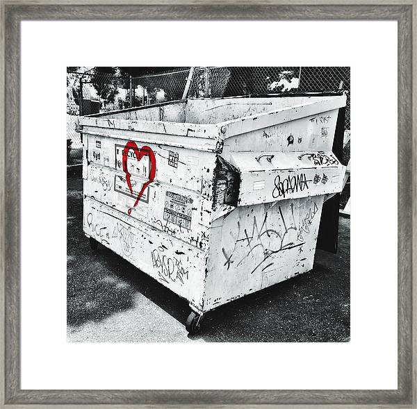 Urban Love Framed Print
