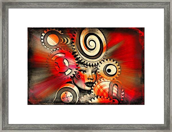 Urban Medusa Framed Print