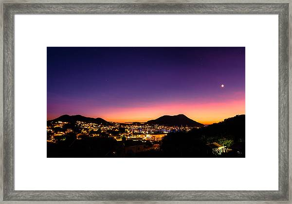 Urban Nights Framed Print