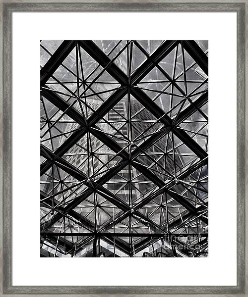 Urban Patterns - Sao Paulo  Framed Print