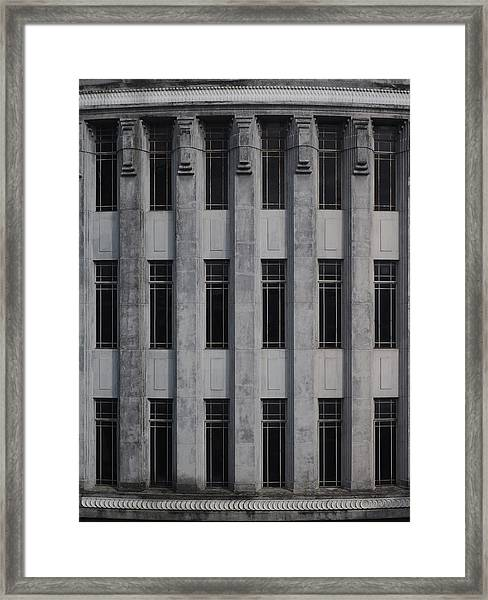Urban Structure Framed Print
