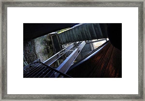 Urban Textures Framed Print