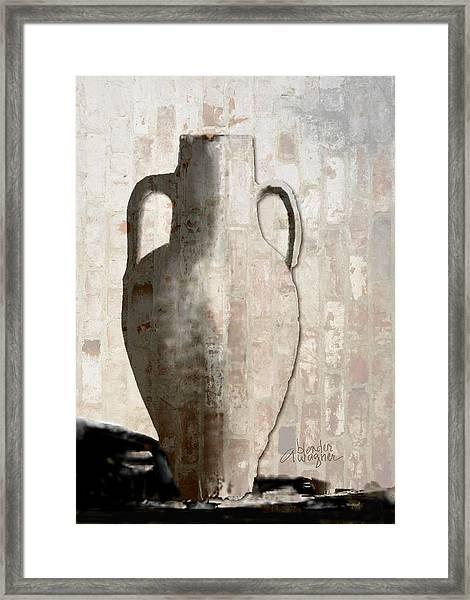 Urn Framed Print