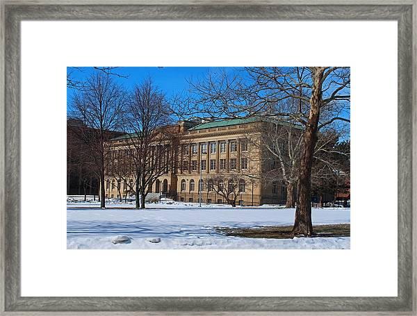Us Court House And Custom House Framed Print