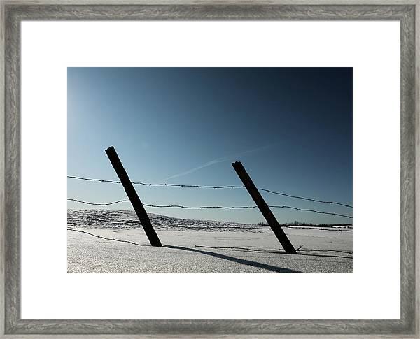 Us Two Framed Print