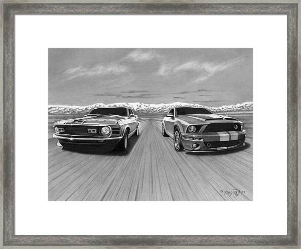 Usa Muscle  Framed Print