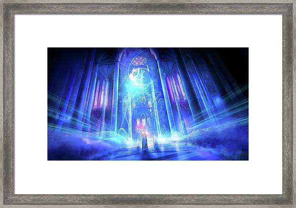 Utherworlds The Language Of Truth Framed Print
