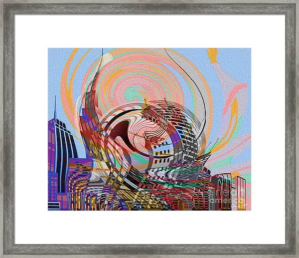 Utopia Framed Print by Eleni Mac Synodinos