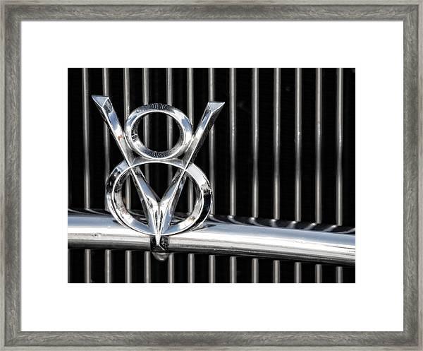 V8 Framed Print