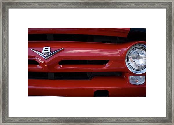 V8 Framed Print by Rockstar Artworks