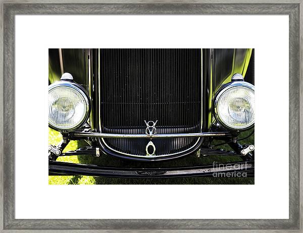 V8 Framed Print by Tim Gainey