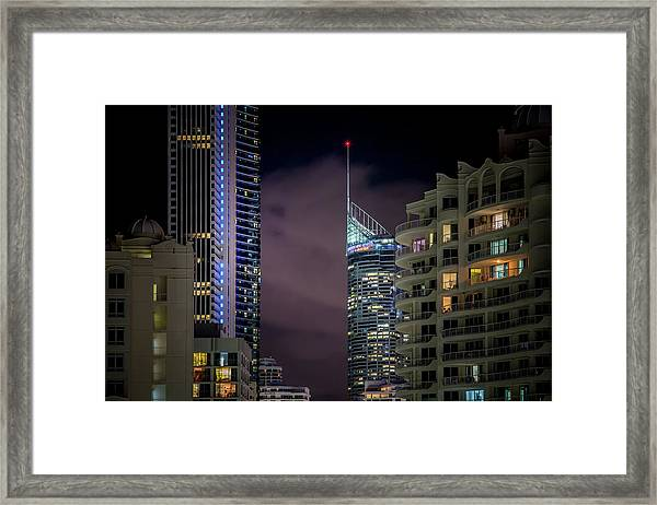 Vacancy Framed Print