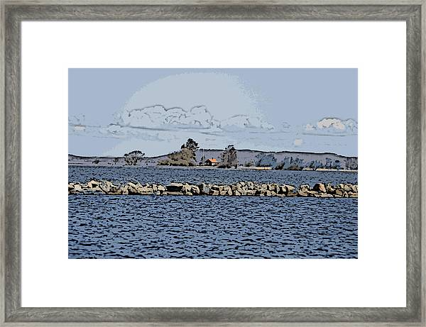 Vaennern Lake Framed Print