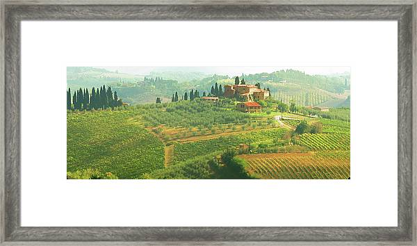 Val D'orcia Jewel Of Tuscany Framed Print