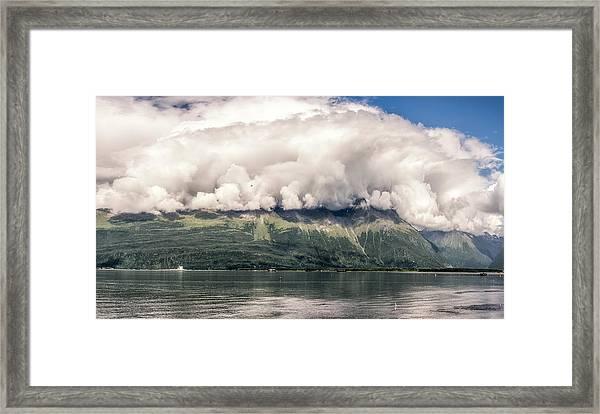 Framed Print featuring the photograph Valdez Alaska by Claudia Abbott