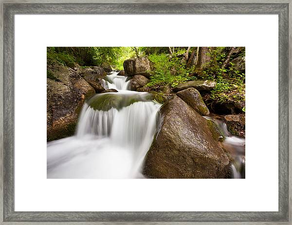 Vall De Boi Cascades Framed Print
