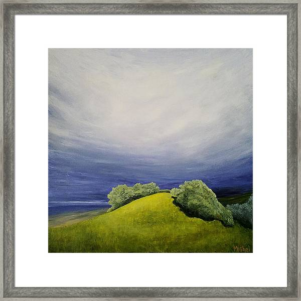 Valle Vista Meadow Framed Print