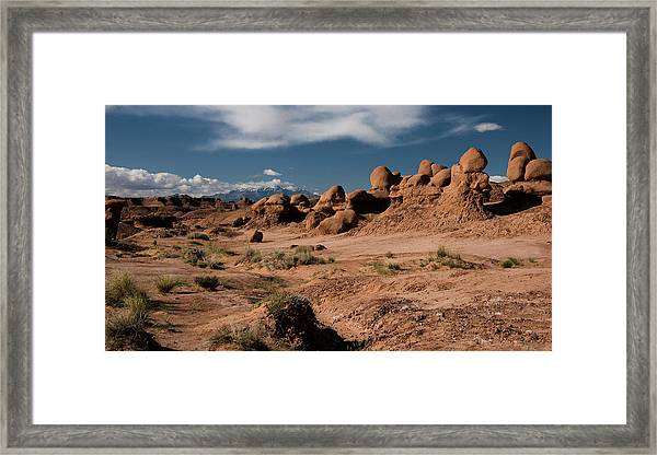 Valley Of The Goblins Framed Print