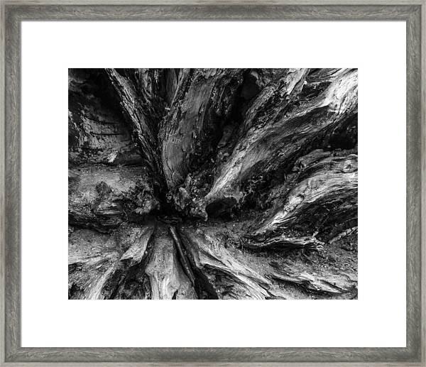 Valleys Framed Print