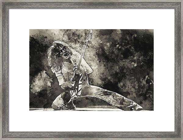 Van Halen - 09 Framed Print