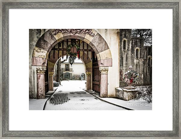 Vanderbilt Holiday Framed Print