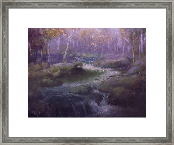 Vanishing Color Framed Print