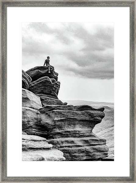 Framed Print featuring the photograph Vantage Point by Nick Bywater