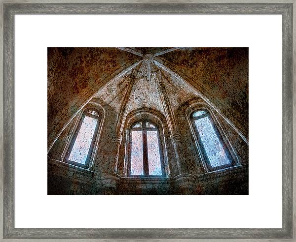 Framed Print featuring the photograph Rhodes, Greece - Vault by Mark Forte