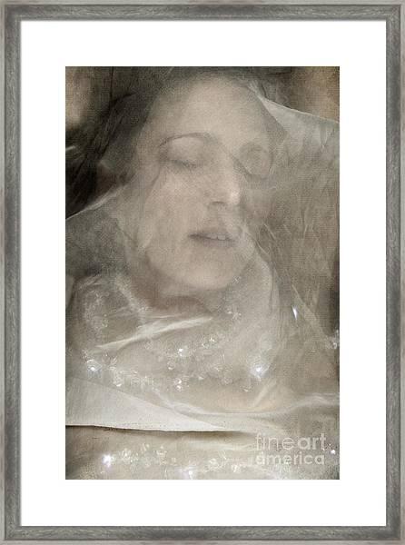 Veiled Princess Framed Print