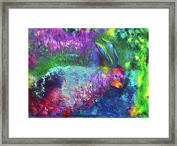 Velveteen Rabbit Framed Print