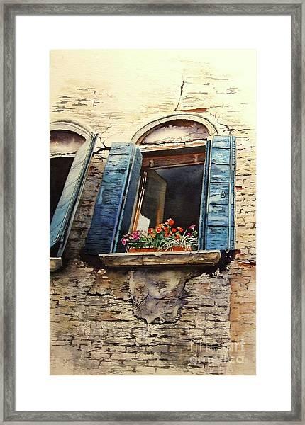Venecia Framed Print