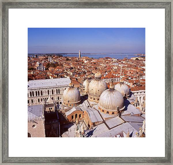 Venice From Above Framed Print