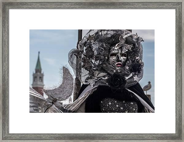 Venice Mask 19 2017 Framed Print