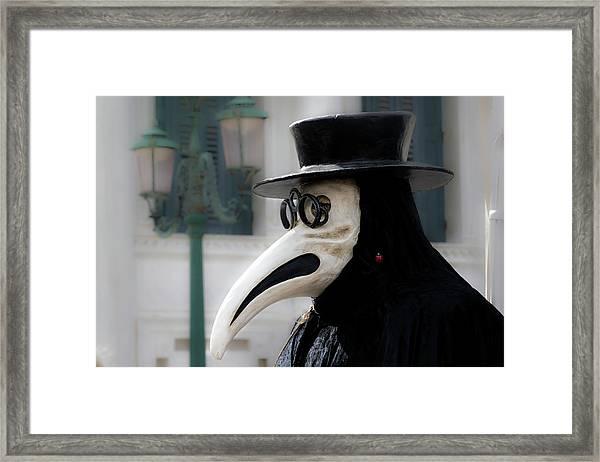 Venice Mask 23 2017 Framed Print