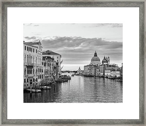 Venice Morning Framed Print