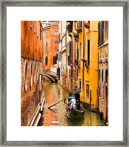 Venice Passage Framed Print