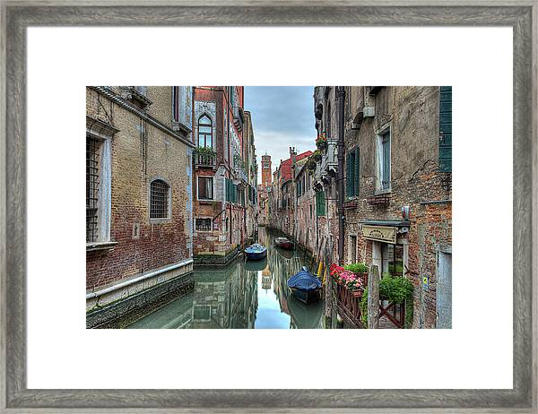 Venetian Morning Framed Print