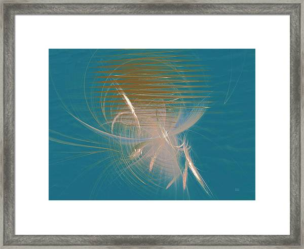 Venus Born Out Of The Sea Framed Print