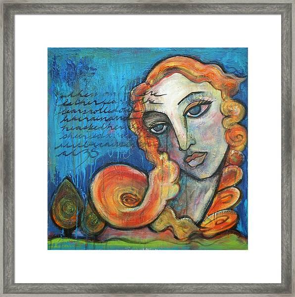 Venus Lets Go Framed Print