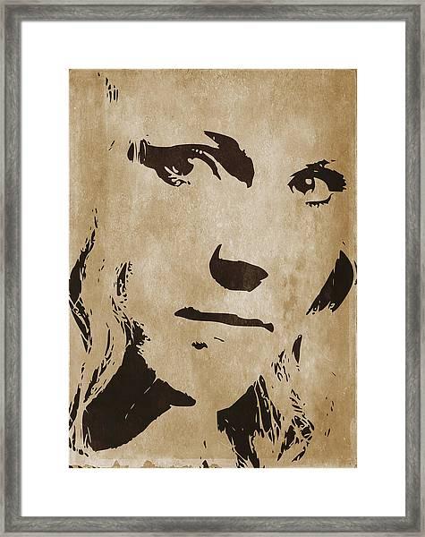Vera Bella Framed Print