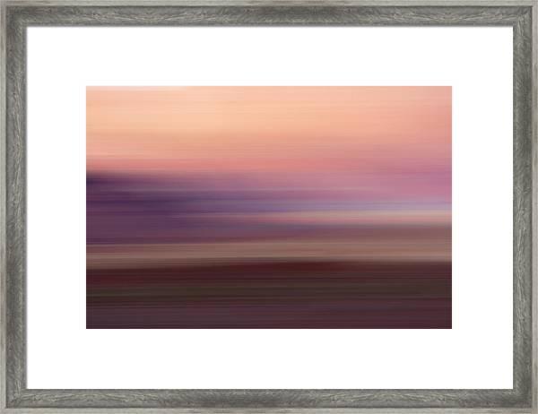 Vermilion Cliff At Dusk Framed Print