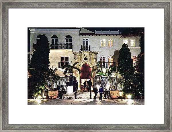 Versace Mansion South Beach Framed Print