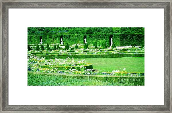 Versailles Pathways Framed Print