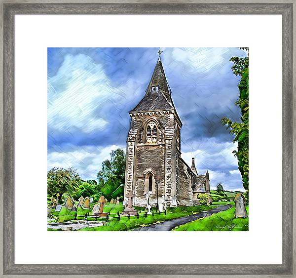 Very Old Church Framed Print