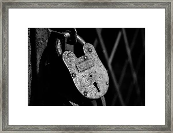 Very Secure Framed Print