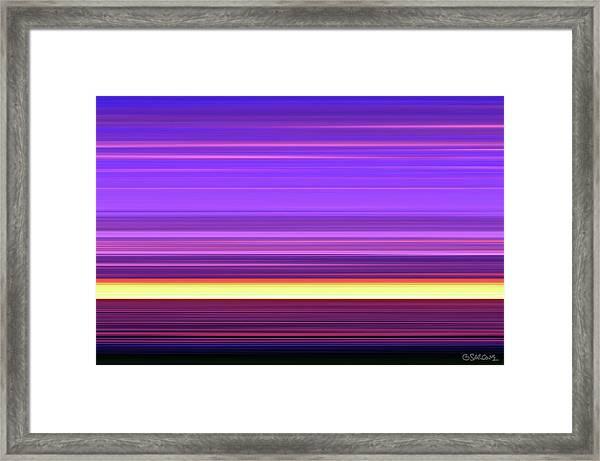 Vesperalia Framed Print