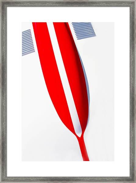 Vetteart Framed Print by Rebecca Cozart