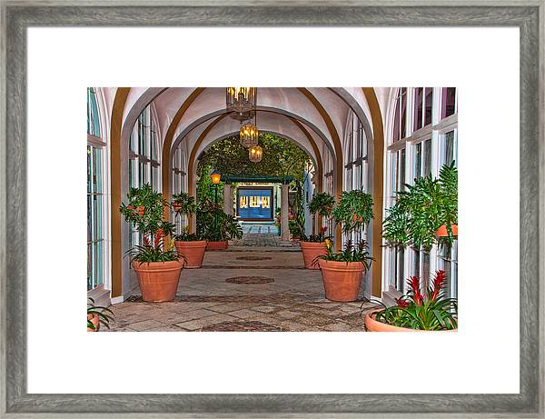 Via One Framed Print