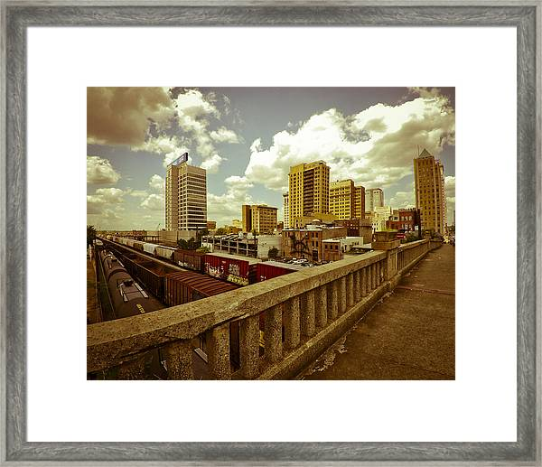 Viaduct View Framed Print