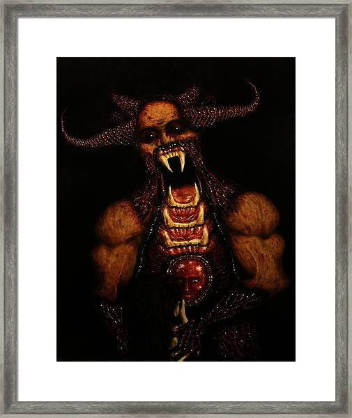 Vicious - Artwork Framed Print